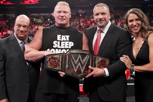 WWE Has No Legitimate Challenger for Brock Lesnar Following His SummerSlam Win