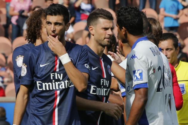 Evian Thonon Gaillard vs. Paris Saint-Germain: How PSG Will Line Up
