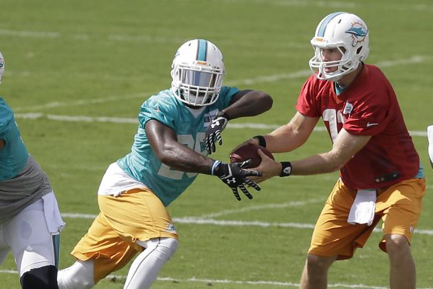 Dolphins Should Employ Two-RB System