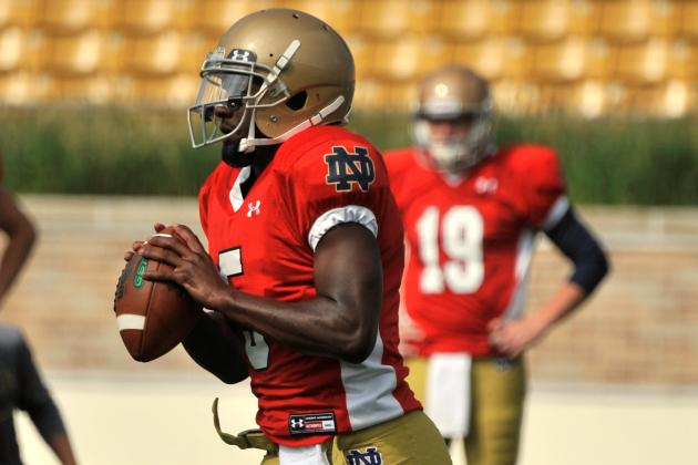 Read Option Becomes 'Second Nature' for Everett Golson