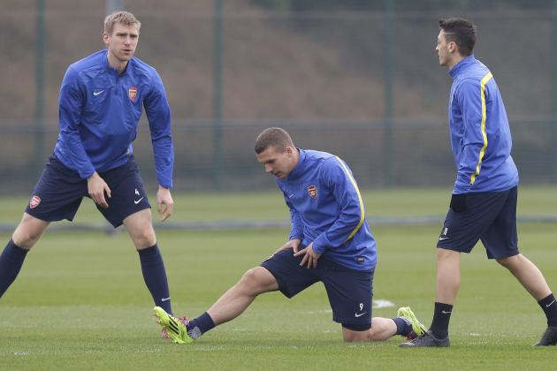 Arsenal's World Cup Winners Return, but Lukas Podolski Likely to Leave Soon