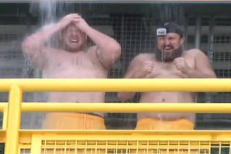 Josh Sitton & T.J. Lang Take the ALS Ice Bucket Challenge