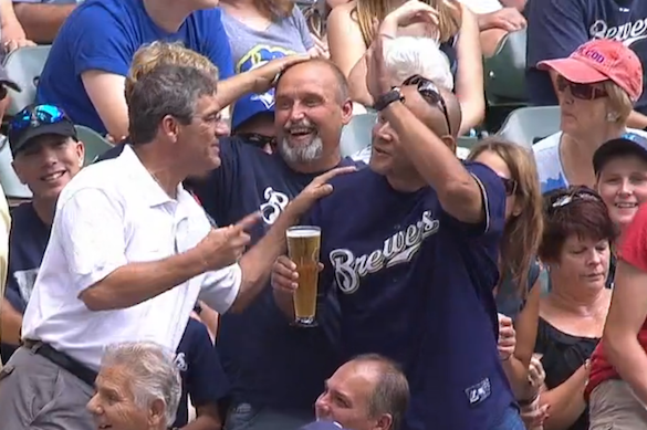 When a Foul Ball Destroyed a Fan's Beer
