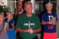 Ainge's First Tweet: Ice Bucket Challenge