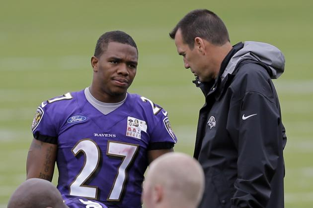 Kubiak Has Ravens' Ground Game Is Up and Running