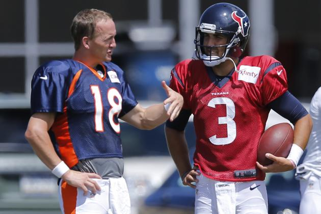 Peyton Manning Offers Some Advice to Rookie QB Tom Savage
