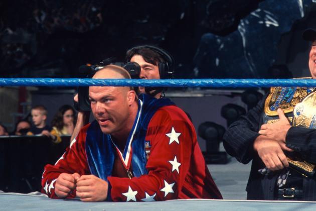 WWE Foolish to Reportedly Blow off Potential Kurt Angle Return
