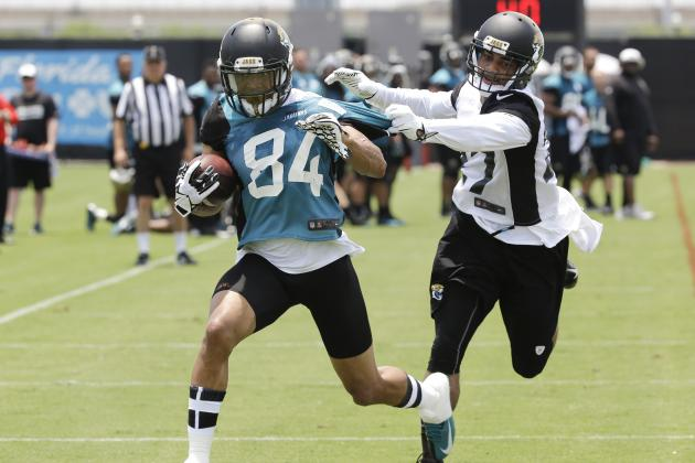 Cecil Shorts Eager to Get Back into Swing of Things with Jacksonville Jaguars