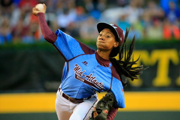 Mo'ne Davis Pitching Against Las Vegas Breaks Record for LLWS Viewership