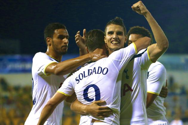 AEL vs. Tottenham Hotspur: Live Score, Highlights from Europa League Game