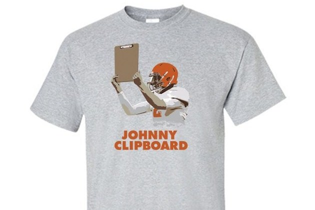 'Johnny Clipboard' Shirts Are Being Printed to Show Johnny Manziel's New Role