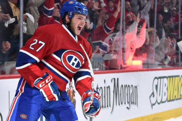 Alex Galchenyuk of Montreal Canadiens Poised for Breakout Season