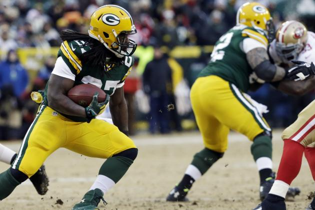 With Lacy (and Starks), the Focus Is Finishing for Packers' O-Line