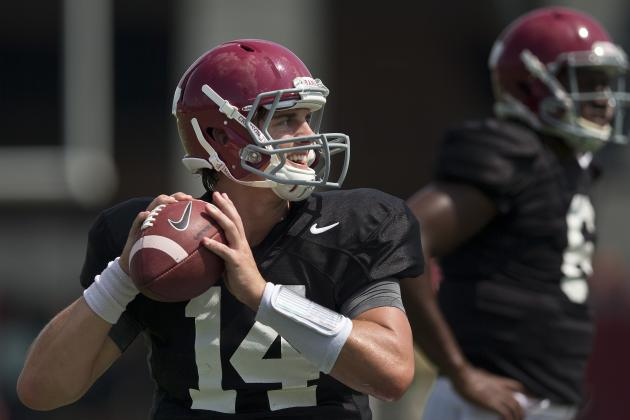 Debate: Who Should Be Alabama's Starting QB?