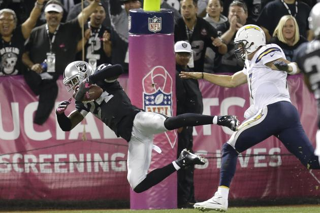Raiders' Charles Woodson Looking to Match All-Time Record for Interception TDs