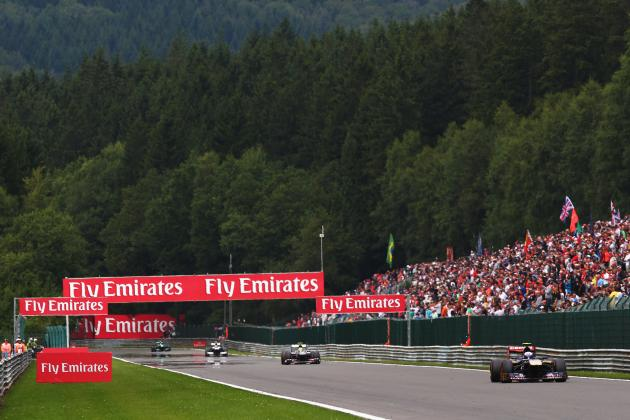 Belgian F1 Grand Prix 2014: Start Time, Lineup, TV Schedule and More