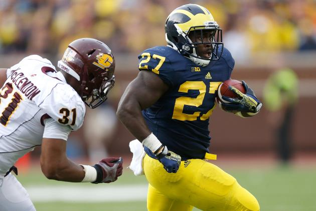 Derrick Green vs. De'Veon Smith, the Friendly Battle to Be Michigan's Top RB