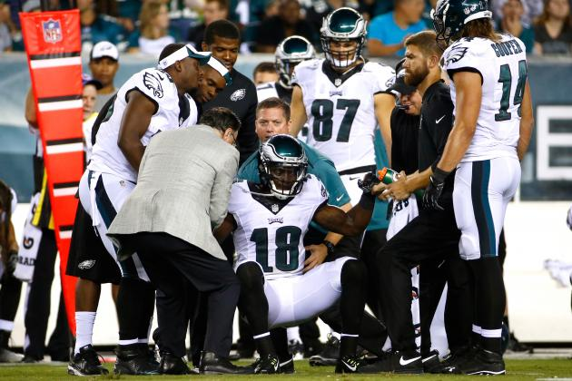 Jeremy Maclin Injury: Updates on Eagles WR's Knee and Recovery