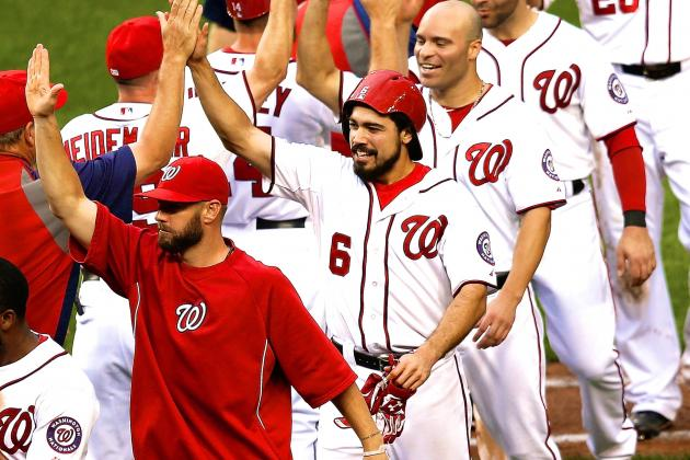 Scorching Nationals Finally Reach NL-Best Potential in 10-Game Win Streak
