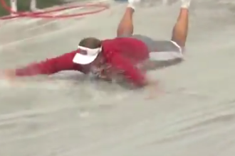 Video: Kevin Wilson Broke out a Slip 'N Slide After Indiana Practice