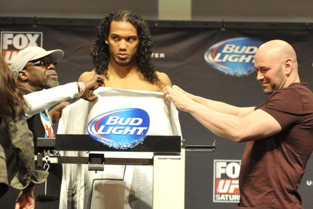UFC Fight Night 49 Weigh-in Results and Updates
