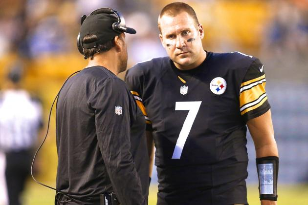 Ben Roethlisberger, Steelers Have Cause for Concern After Showing vs. Eagles