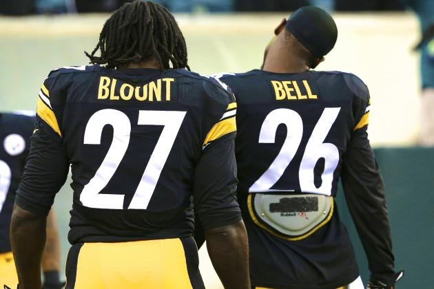 In Wake of Controversy, Le'Veon Bell and LeGarrette Blount Still Key to Steelers