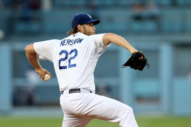 Dodgers Beat Padres 2-1 Behind Kershaw's 10 Ks