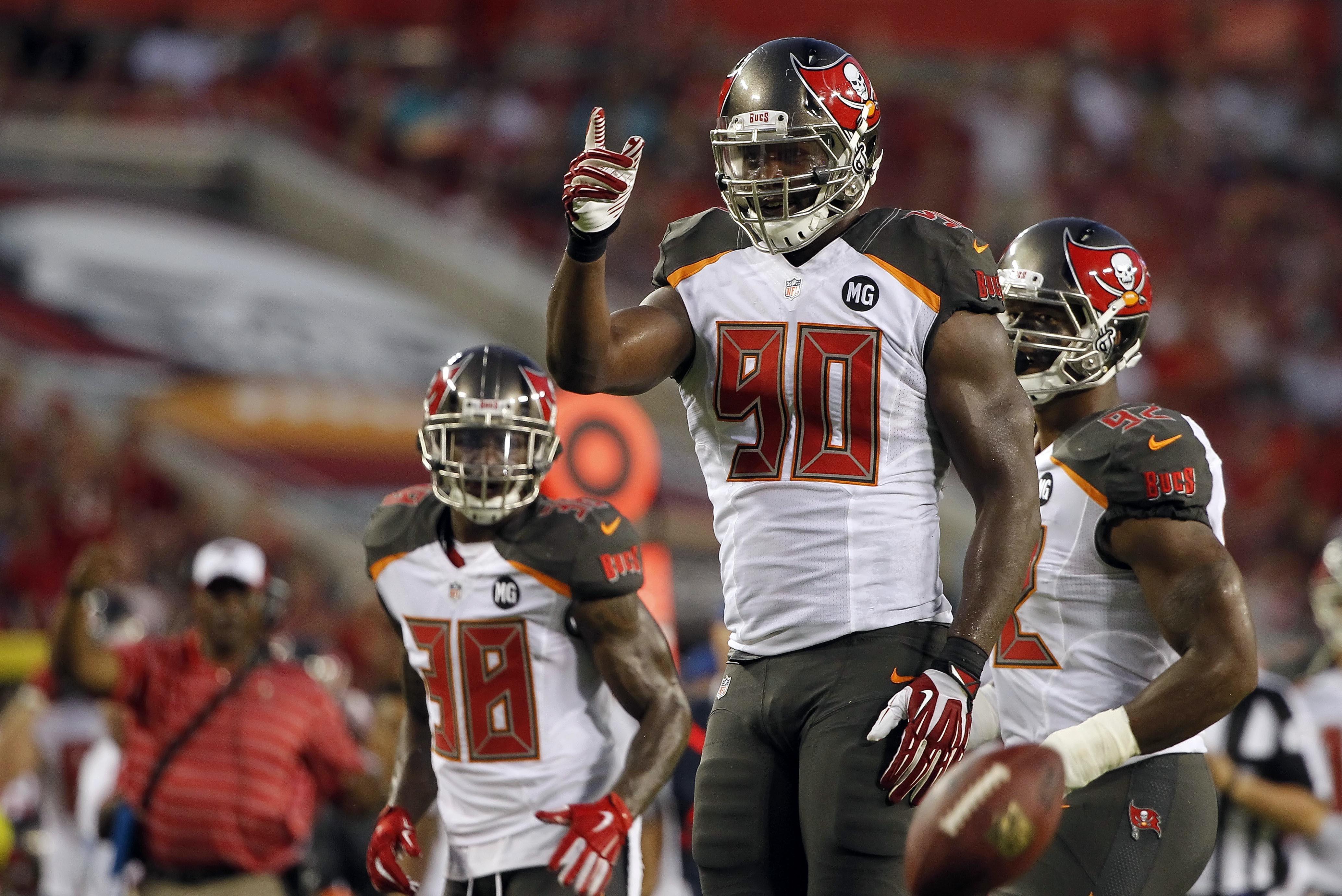 NFL Jerseys - Tampa Bay Buccaneers vs. Buffalo Bills: Bucs Preseason Week 3 Game ...