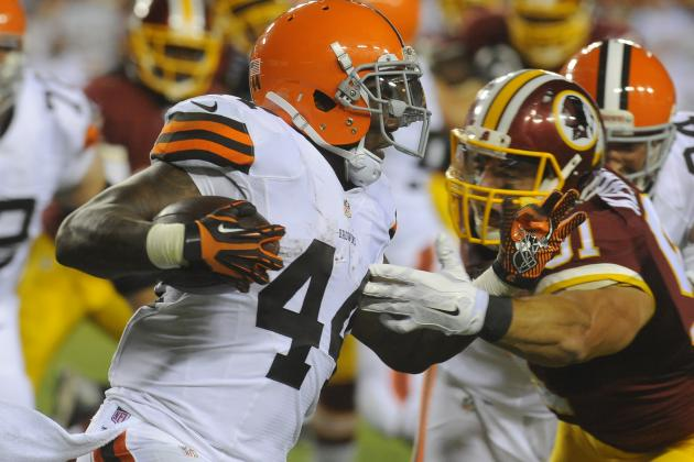 Browns' Ben Tate Emerging as One of the Leaders on a Reshaped Offense