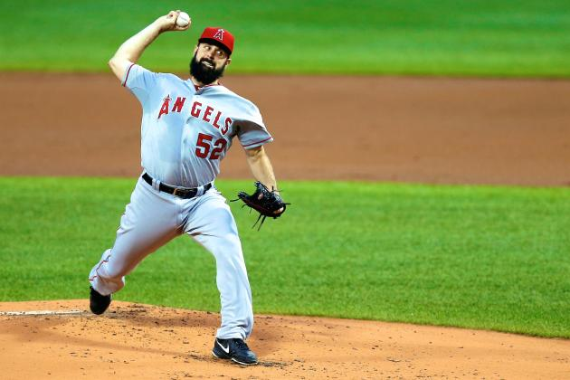 Matt Shoemaker Giving Angels Some Hope After Devastating Garrett Richards Injury