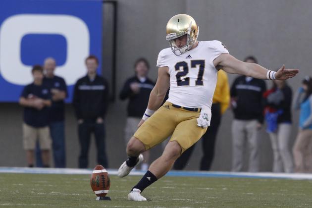 Notre Dame: Kyle Brindza Not Your Typical #CollegeKicker