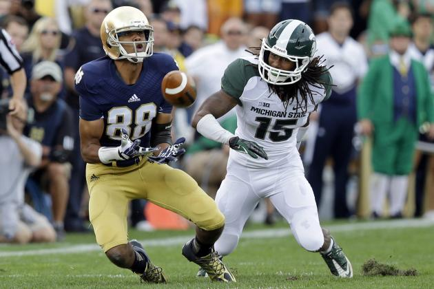 Notre Dame WR Corey Robinson Taking Page out of Samardzija's Book