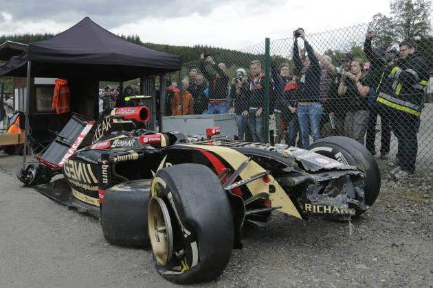 Maldonado 'Ok' After Heavy Hit