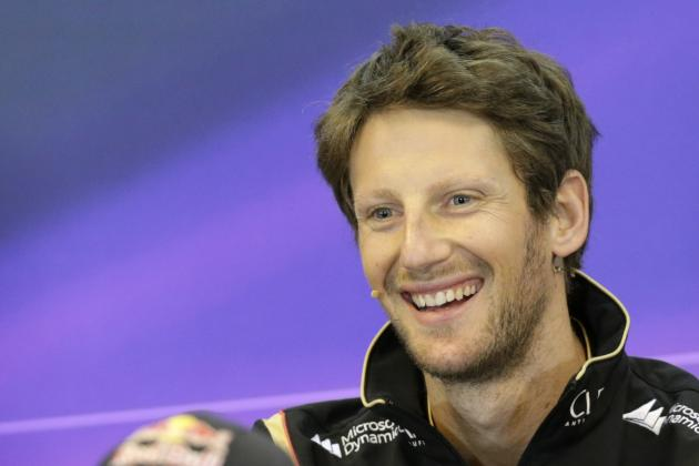 Grosjean Not Expecting to Challenge for Points at Spa