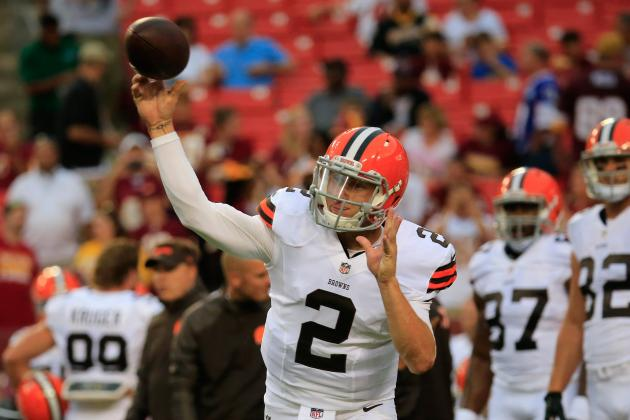 Johnny Manziel Still the Favorite to Win Offensive Rookie of the Year