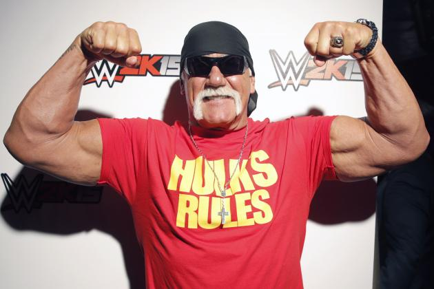 Hulk Hogan Threatens Brock Lesnar After Being Called out on Raw