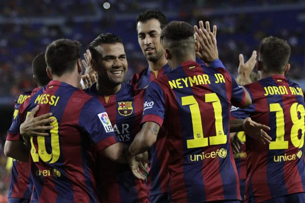 Barcelona vs. Elche: How the Blaugrana Will Line Up in the La Liga Clash