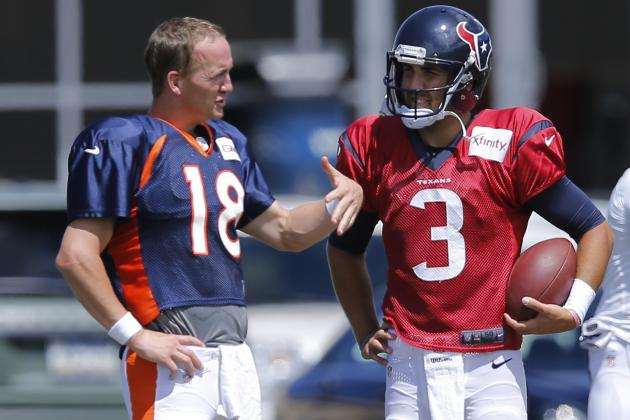 Tom Savage Soaks in Advice from Manning