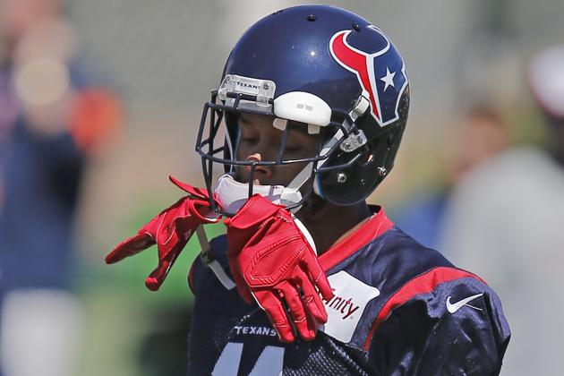 DeVier Posey Continues to Impress During Texans' Practices with Broncos