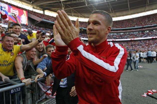Arsenal Transfer News: Gunners Should Keep Lukas Podolski for 2014-15 Season