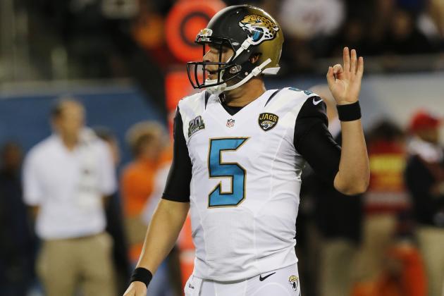 NFL Network Analysts Have High Praise for Jaguars QB Blake Bortles
