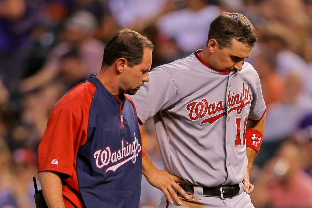 Nats' Zimmerman Takes Significant Step in Recovery
