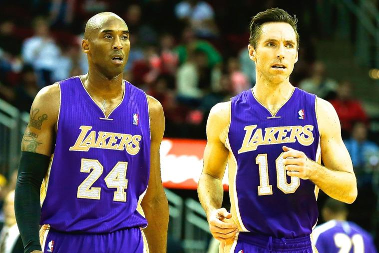 Steve Nash Described Kobe Bryant in 3 Very NSFW Words, Black Mamba Approved