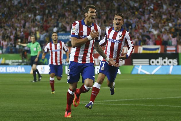 Twitter Reacts to Mario Mandzukic's Play vs. Real Madrid in Spanish Super Cup
