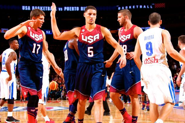 USA Basketball vs. Puerto Rico: Live Score and Highlights