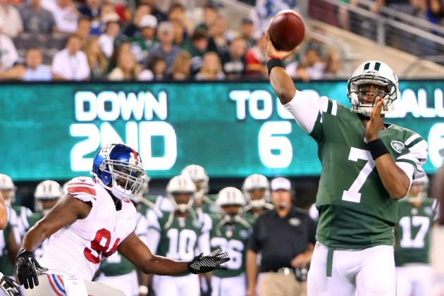 Giants vs. Jets: Score and Twitter Reaction from 2014 NFL Preseason