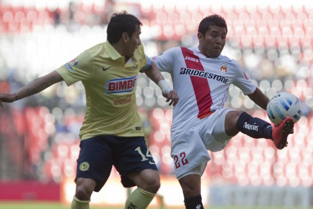 Liga MX Table 2014: Updated Apertura Results and Standings Following Week 6