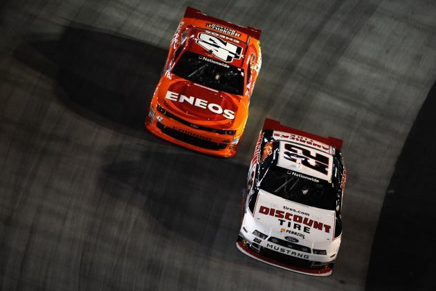 NASCAR Nationwide Series at Bristol 2014: Live Leaderboard Updates