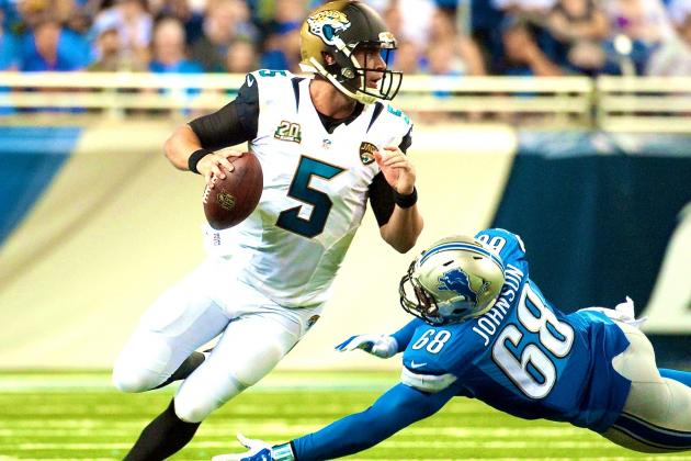 Blake Bortles Showing All the Signs of Becoming Franchise QB Jaguars Need